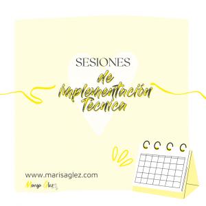 Sesiones de Implementación técnica